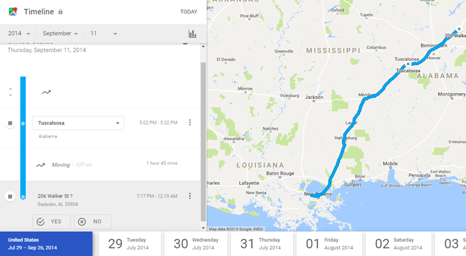 How To View Google Maps Location History - Google maps trace my route