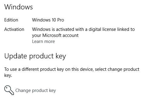 How to link windows product key to microsoft account in a future post im going to show you how you can reactivate windows using a digital license that is stored in your microsoft account ccuart Gallery