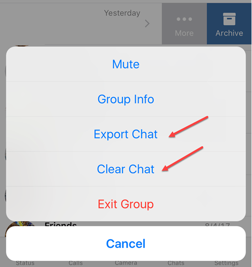 export chat Exordium whats-app is a cross platform instant messaging app for smartphones it is very popular social networking application it was founded by brian acton and jan koum in 2009.