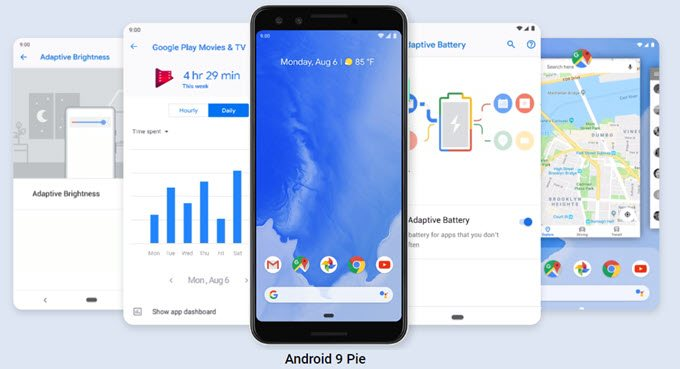 Review of Android Pie at OnlineTechTips.com
